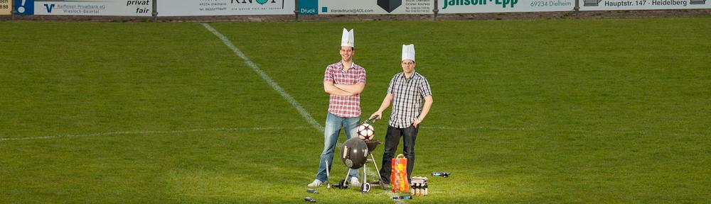 Sebi & Maschi auf Bundesligareise